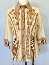 *XL* Save The Queen Cotton Silk Top Tee T-Shirt Tunic Dress Blouse made in ITALY