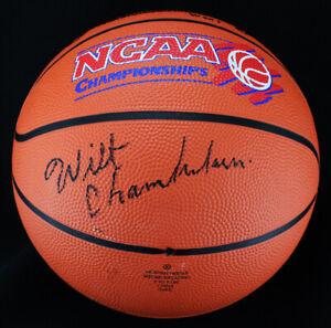 *Wilt Chamberlain Signed Autographed Basketball BAS Beckett*