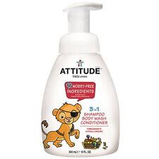 ATTITUDE - Little Ones 3 in 1 Shampoo Body Wash Conditioner - Pear Nectar 10 oz