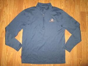 Mens NIKE GOLF athletic quarter zip shirt sz M Md Med