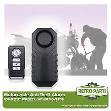 Wire-free Motorbike Alarm For Vespa/Piaggio. Easy Install Anti-Theft Protect