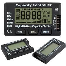 Digital Battery Capacity Tester Checker Controller LCD For LiPo LiFe NiMH Li-ion