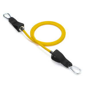 Black Mountain Products Single Stackable Resistance Band Yellow - 2-4lbs