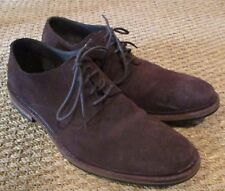 Cole Haan Williams Buck II (Chestnut Suede) Men's Lace Up Wing Tip Shoes Sz 12M