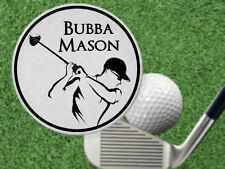 Classy Golfer Golf Ball Marker. Personalized FREE! Laser Engraved Steel Gift