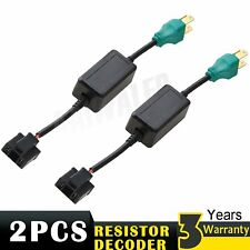 2Pcs H4 9003 LED Headlight Canbus Load Resistor Decoder Error Free Anti Flicker