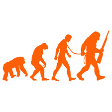 Dawn of the Planet of the Apes Siluet Decal Sticker avaliabe in Multi color