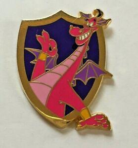Disney Pin Badge DLR - Medieval Magic - Dragon Mystery - Aladdin Genie