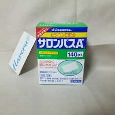 Hisamitsu Japan SALONPAS Sheets Relief Muscular Pains Aches 140pcs