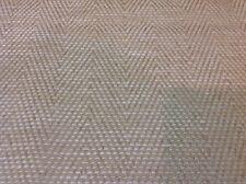 Colefax Fowler Chenille Chevron Upholstery Fabric-Branton/Cream-1.25 yd F3832-03