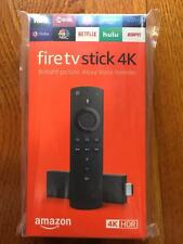 Fire TV Stick 4K with all-new Alexa Voice Remote, streaming media player (NIB)