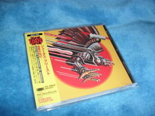 JUDAS PRIEST -SCREAMING FOR VENGEANCE- AWESOME JAPAN PRESS CD EXCELLENT CON