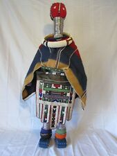 X-Large Antique Collectable African Ndebele Initiation Ceremonial Doll Figurine