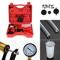Hand Held Vacuum Tester Pump Brake Bleeder Kit Car Motorbike Bleeding Tool