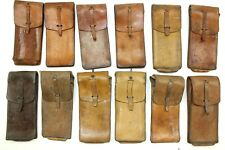 FRANCE FRENCH ARMY FOREIGN LEGION MAB LEATHER AMMO POUCH 1950 / 60's