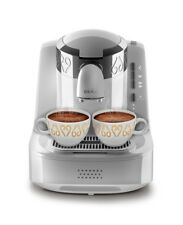 Arzum Okka OK002 Automatic Turkish/Greek Coffee Maker/Machine, White/Silver