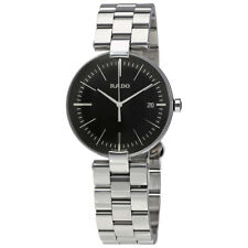 Rado Coupole L Black Dial Unisex Stainless Steel Watch R22852163