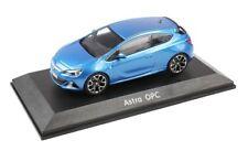 OPEL ASTRA J GTC OPC Modellauto Sammlerauto | 1:43 | Ardenblau Blau | OC10049