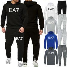 Mens Full Tracksuit Set Hoodie Pants Bottoms Sweater Jogging Gym 2pcs Suit Sport