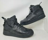 Nike SF Air Force One 1 Mid Mens Shoes Size 12.5 Triple Black 917753-005