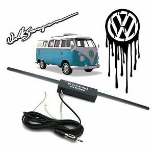 Volkswagen VW Hidden Amplified Antenna FM Radio Signal Booster Transporter Samba