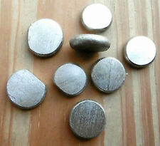 NICKEL metal ~ 99.9% Purity metal element ~ FLATS 85g per bag