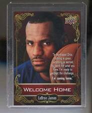 2014 Upper Deck National Promo LEBRON JAMES WELCOME HOME RARE SP