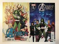 A-FORCE #1 (2015, 2016) | 1ST FIRST A-FORCE TEAM, SINGULARITY