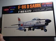 Plamodel marusan F-86D SABRE Jet Fighter 1/50 Scale Plastic Model Kit UNBUILT