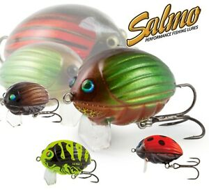 FOX Salmo Ultra Light Lure Fishing LIL BUG New 2cm Top Water Floating Crank Chub