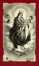 SANTINO MADONNA  DEL CARMINE   IMAGE PIEUSE - HOLY CARD-  Heiligenbild
