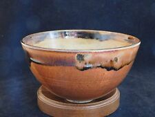 Incredible Fine Studio Pottery Stoneware Bowl Signed and Dated Unknown Artist