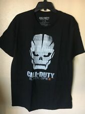 CALL OF DUTY - Black Ops -Men's Black T-Shirt Size Large