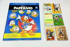 Paperino 2019 Panini Album + Set completo figurine + 36 Cards Donald Duck