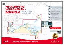 DK Satz 2, Ostsee - Mecklenburg-Vorpommern, Bornholm # Seekarte PAPIER + DIGITAL