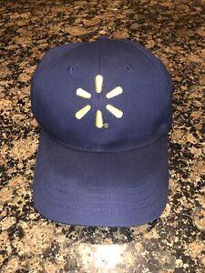 Proud Walmart Associate Navy Blue Hat  Adjustable UNWORN With Tags Brand New