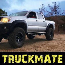Running Boards Steps Hoop Steps Nerf Bar fit 05-20 Toyota Tacoma Crew Double Cab