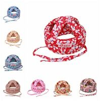 Adjustable Infant Toddler Baby Safety Hat Helmet Headguard Protector Walk Cap AU