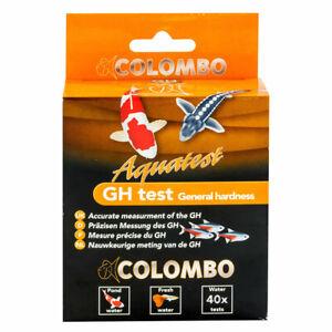Colombo Pond GH Test Kit Garden Pond Hardness TDS Water Testing Kit Koi Goldfish