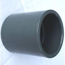 10 St PVC Muffe Klebemuffe d 50 mm DN 40 innen innen Pool Wasserrohr Verbinder
