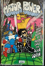 Major Power and Spunky #1 One-Shot VF 1st Print Underground Comics