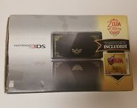Nintendo 3DS The Legend Of Zelda 25th Anniversary Limited Edition Black & Gold