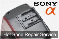 Sony Flash Shoe Part Repair Service HVL-F58AM, HVL-F56AM, HVL-F43AM, HVL-F20AM