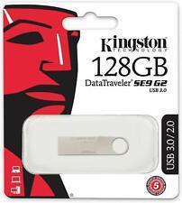 Kingston DataTraveler SE9 G2 16 32 64 128GB USB 3.0 3.1 Gen 1 Memory PC Photo HD