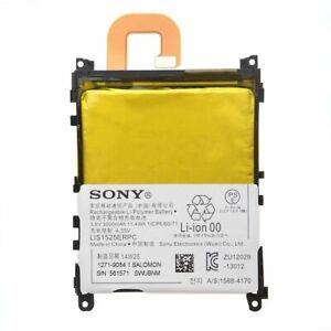 Original Product 3000mAh Sony Xperia Z1 Battery C6902 C6903 C6906 LIS1525ERPC