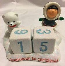 2016 Hallmark Frosty Friends Countdown to Christmas Perpetual Calendar New
