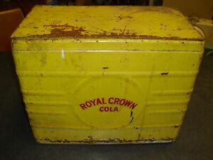 ROYAL CROWN COOLER VINTAGE WITH BOTTLE OPENER STARR X NO HANDLE