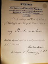 Sotheby's Fine Printed and Manuscript Americana New York 1988 Constitution Ed.