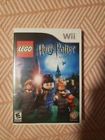 LEGO Harry Potter: Years 1-4 (Nintendo Wii, 2010) CLEAN TESTED AND WORKING