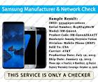 Check IMEI Samsung Network Finder & GSX Checker